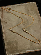 Two Sparrow Necklace / 小鳥ネックレス