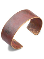 Broad Cuff 1 Inch (Copper / WorkPtina)
