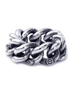 Hollow Curblink Chain Ring