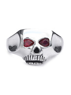 JIM SKULL SYNTHETIC RUBY