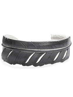 James Crowe Feather Bangle