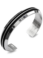 TOM HAWK / 2 line Bangle 13mm