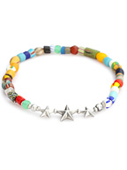 Star Beads Anklet (MIX)
