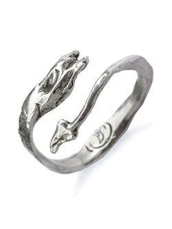 Sea Serpent Stack Ring
