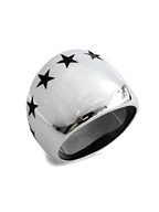 BIG SEVEN STAR RING (SILVER)
