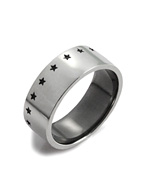 THIRTEEN STAR RING (SILVER)