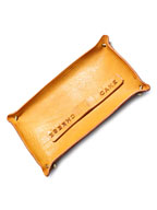 LEATHER TRAY (CAMEL)