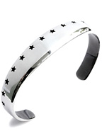 THIRTEEN STAR BANGLE (SILVER)
