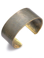 Broad Cuff 1 Inch (work patina)