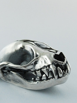 Mink Skull Necklace