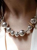 Vintage Art Deco Sterling Silver Spheres