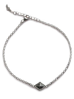 Pyramid Chain Anklet [ED-15FL-A01]