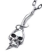 SKULL DAGGER NECKLACE