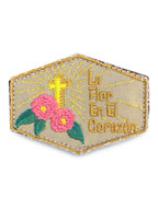 Embroidery Pins (La Flor)