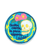 Embroidery Pins (Canta Skull)