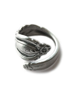 Antique Spoon Ring (Large)