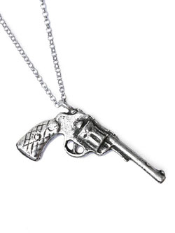 Pistol Necklace / ピストル ネックレス