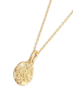 Ancient Flower Pendant (Gold Plated)