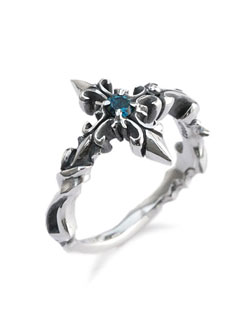 Thistle Cross Ring