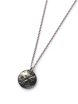 arrow dime necklace / アロー ダイム ネックレス [12ad-219]