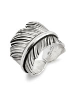 FEATHER RING / L