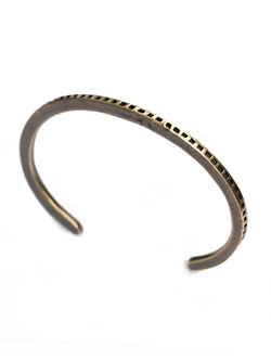 Struct Bangle (Brass)