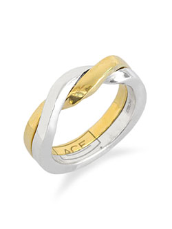 acegimmel ring k18 gold plated / エース ギメル リング