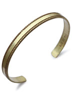 Brass Bangle Slim W-2