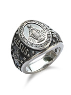 Mary College Ring [17AAS-205]