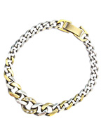 Gradation Cavalry Chain Bracelet Narrow [17AO-406]