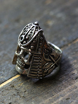 Vintage Warrior Skull Ring / ヴィンテージウォリアースカル リング