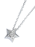 BRILLIANCE STAR NECKLACE [gdp105]