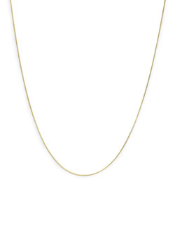 NECKLACE CHAIN C-061S / GOLD