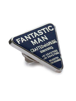 FANTASTIC MAN PIN -Navy-