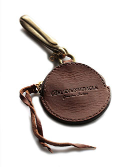 COIN CASE KEYHOLDER (BROWN)