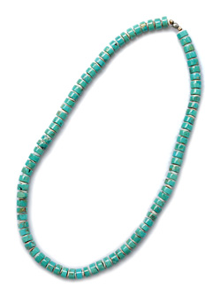 Heish Turquise Necklace