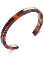 6mm Narrow Bangle (Tortoise Shell)