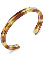 6mm Narrow Bangle (Amber Mix)