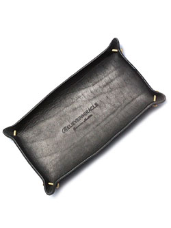 LEATHER TRAY (BLACK)