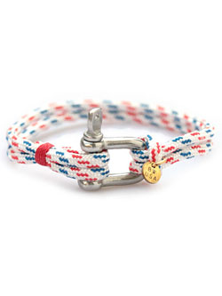 Shackle Nylon Bracelet TRICOLOR