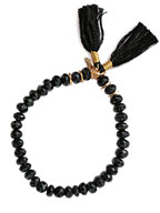 Joe Gemstone Stretch Bracelet (Onyx)