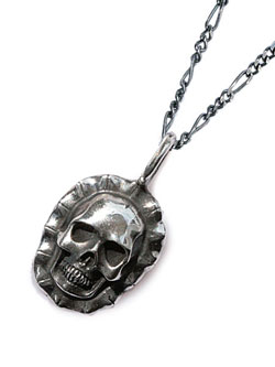 Skull Necklace (Silver)