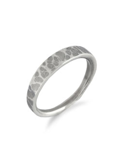 EDGE RING3 HAMMERED