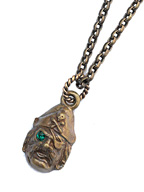 PIRATE NECKLACE (Brass)