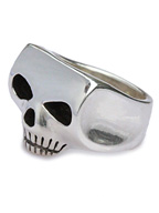 XL JIM SKULL RING