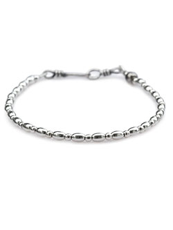 Silver Small Beads Bracelet