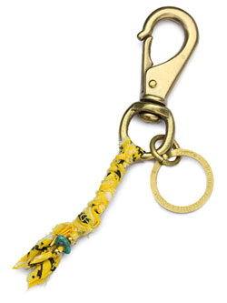 BANDANA KEYRING (YELLOW)