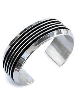 TOM HAWK / 5 line Bangle 24mm
