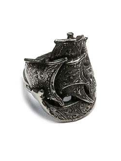 Spanish Galleon Ring / 帆船リング