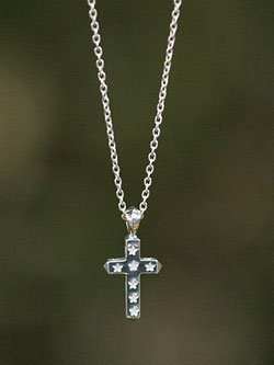 Star Cross Necklace -small- [14ao-136]